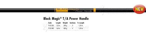 Ручка для подсачека 4,40м Black Magic Browning NEW