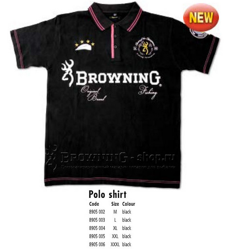 Футболка Polo XXL Browning NEW