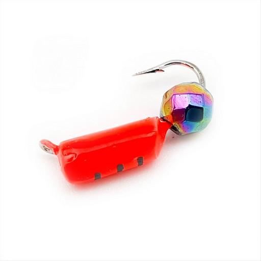 Столбик с граненым шаром Хамелеон 0,8 гр. (красный) (15 шт)