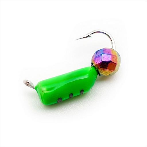 Столбик с граненым шаром Хамелеон 0,5 гр. (зелёный) (15 шт)