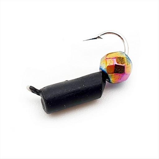 Столбик с граненым шаром Хамелеон 1,1 гр. (чёрный) (15 шт)