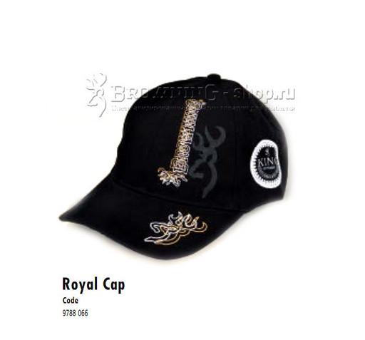 Browning Кепка Royal чёрная  NEW