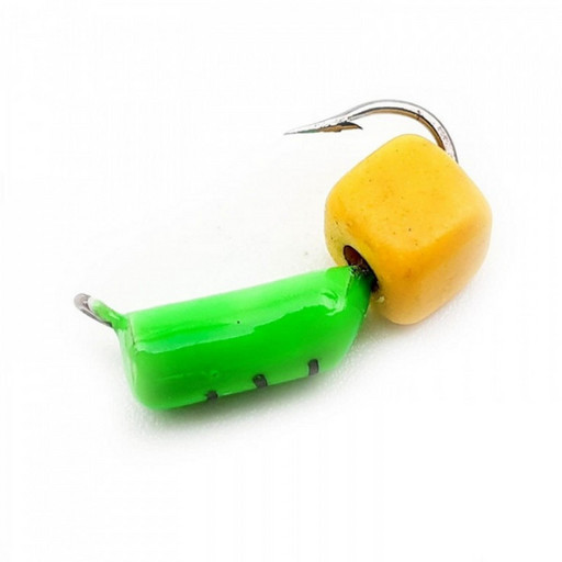 """Столбик с """"Сырным"""" кубиком 0,5 гр.(зелёный) (15 шт)"""