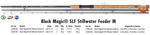Browning  Black Magic SLF Stillwater Feeder M 3,30м 80gr