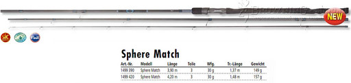 Browning  Sphere Match 30gr 3,90m