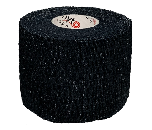 Тейп эластичный черный Phyto Tape 3003 Elastic 5 см х 6,9 м