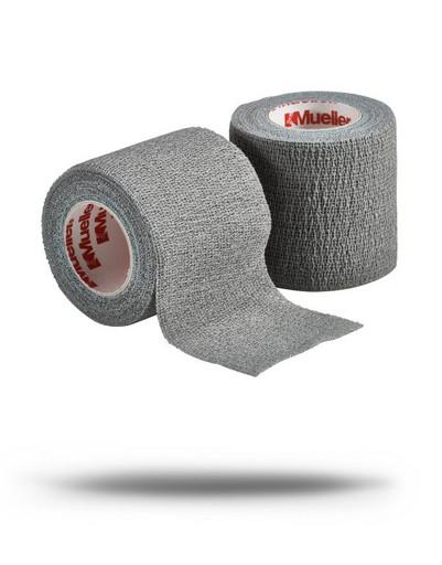 Тейп самозакрепляющийся серый Mueller 24158 TapeWrap Premium 5 см х 5,4 м