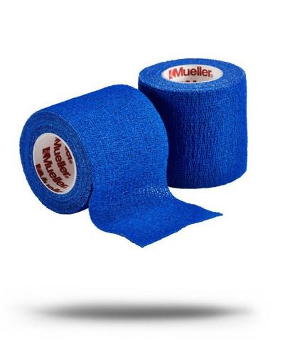Тейп самозакрепляющийся синий Mueller 24458 TapeWrap Premium 5 см х 5,4 м