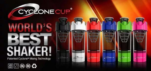 Шейкер Cyclone Cup 591мл 2в1