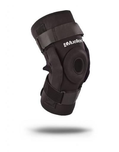 Бандаж на колено Mueller 5333 Pro Leve Hinged Wraparound Knee Brace Deluxe шарнирный