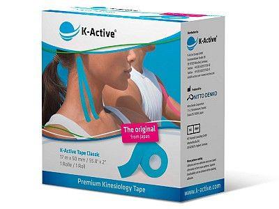 Тейп K-Active Tape Classic голубой 5 см х 17 м