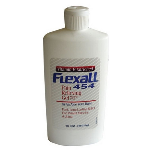 Обезболивающий гель Flexall Vitamin E Enriched (menthol 7%) 453 г