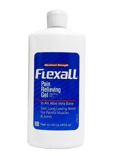 Обезболивающий гель Flexall Maximum Strength (menthol 16%) 453 г