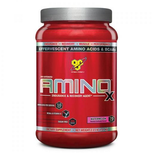 Аминокислоты шипучие в порошковой форме BSN Amino-X (1,02кг)