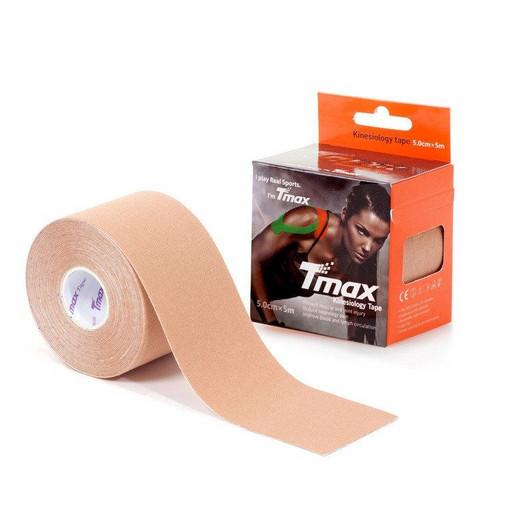 Тейп Tmax kinesiology tape 5см х 5м бежевый