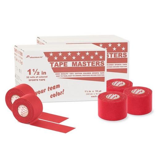 Тейп красный Pharmacels 21041 Masters Tape Colored 3,8см х 9,1 м