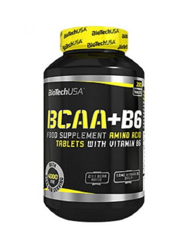 BioTech USA BCAA+B6 200 таблеток