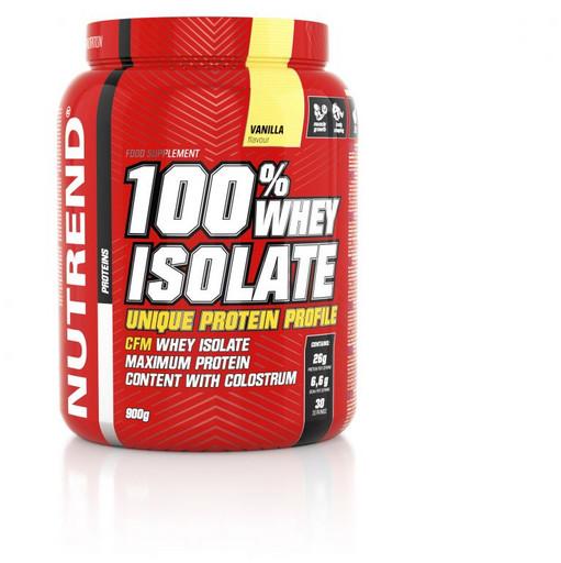 Изолят сывороточного белка Nutrend 100% Whey Isolate 900гр