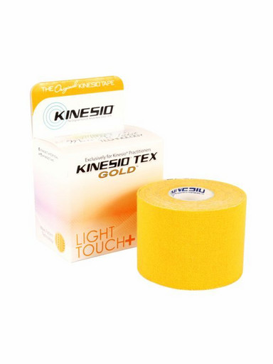 Тейп Kinesio Tex Gold Light Touch LTKT95021 оранжевый 5см х 5м