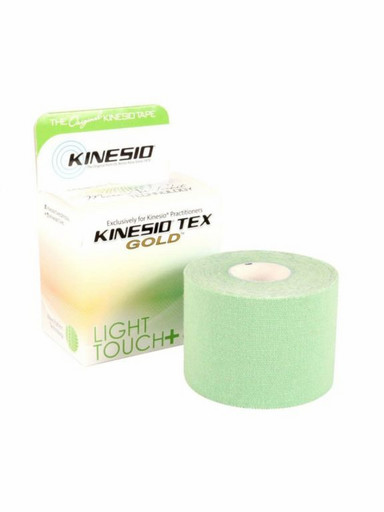 Тейп Kinesio Tex Gold Light Touch LTKT95022 зеленый 5см х 5м