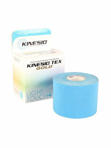 Тейп Kinesio Tex Gold Light Touch LTKT95026 голубой 5см х 5м