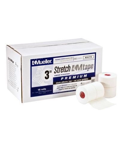 Тейп стрейч Mueller 130603P Stretch M Tape Premium 7,5 см х 4,5 м (16рулонов)