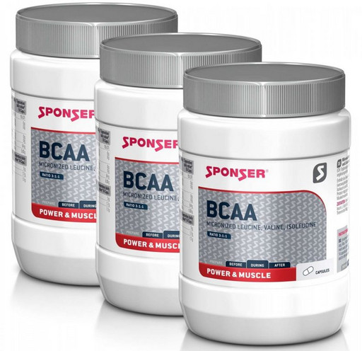 Аминокислоты Sponser BCAA 350 капсул