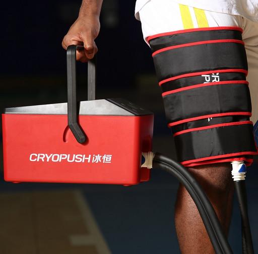 Охлаждающие и компрессионные бандажи CRYOPUSH подключаемые к устройству. Бедро/Икра