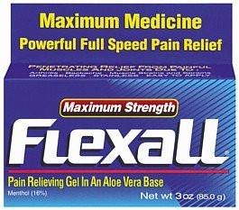 Обезболивающий гель Flexall Maximum Strength (menthol 16%) 85 г