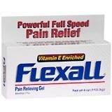 Обезболивающий гель Flexall Vitamin E Enriched (menthol 7%) 113,3 г
