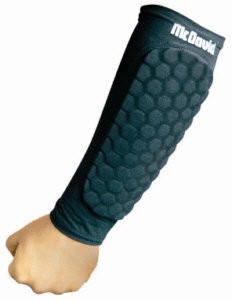 Бандажи на предплечья с защитой McDavid 651T HexPad forearm pad (пара)