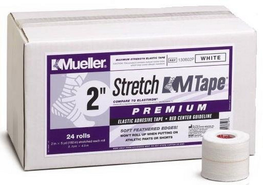 Тейп стрейч Mueller 130602P Stretch M Tape Premium 5 см х 4,5 м (24рулона)