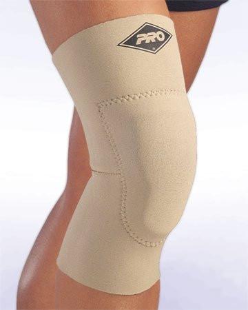 Наколенник с защитой PRO 160 Contact Knee Support w/Gel Pad черный