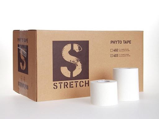Тейп стрейч Phyto Tape 402 Stretch 5 см х 4,5 м (24рулона)