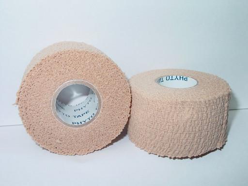 Тейп самозакрепляющийся Phyto tape 701 Tear tape 3,8см х 7 м (32 рулона)