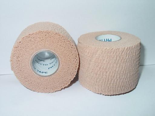 Тейп самозакрепляющийся Phyto tape 702 Tear tape 5см х 7 м (24 рулона)