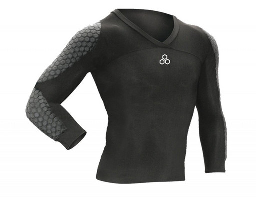 "Майка с защитой McDavid 7731 Long sleeve HexPad soccer goalkeeper shirt ""DIVE"""