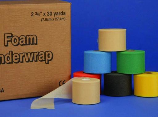 Подкладочный материал Jaybird Pre-tape wrap черный 7 см х 27,4 м