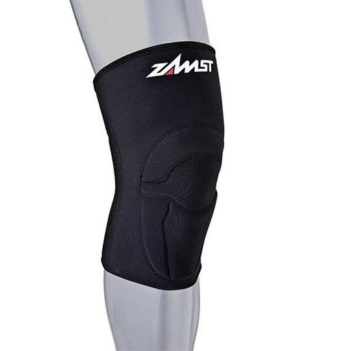 Наколенник с защитой Zamst 4713 ZK-1 Sleeve-type knee support with protective pad