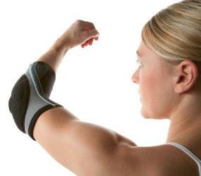 Налокотник с защитой Rehband 7721 Handball Elbow Support