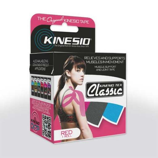 Тейп Kinesio Tex Classic CKT85024 розовый 5см х 4м