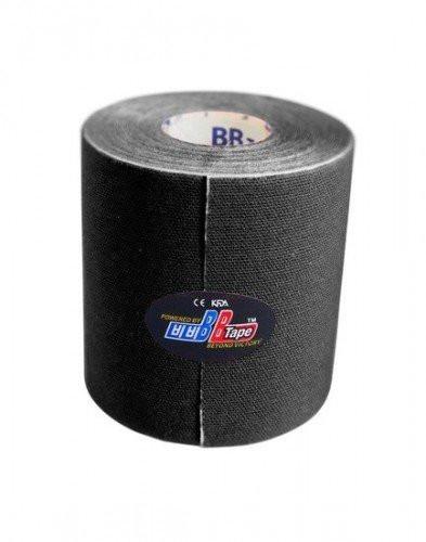 Тейп BBTape Bio Balance Kinesiology Tape черный 7,5 см х 5 м