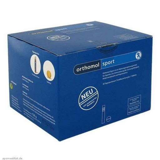 Высокоэффективный комплекс микронутриентов Orthomol Sport 30 питьевых бутылочек