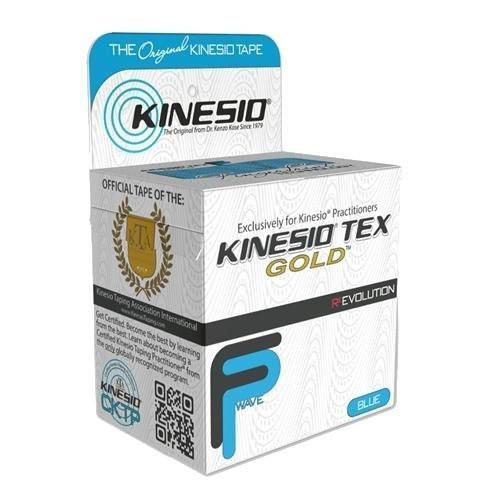Тейп Kinesio Tex Gold FP GKT25024 голубой 5см х 5м