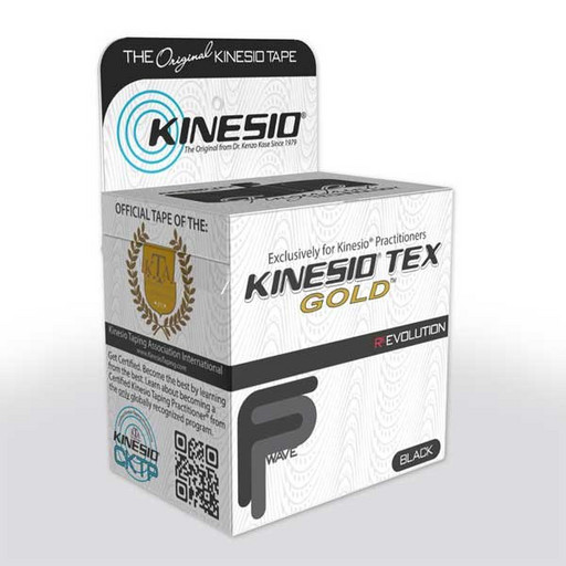 Тейп Kinesio Tex Gold FP GKT45024 черный 5см х 5м