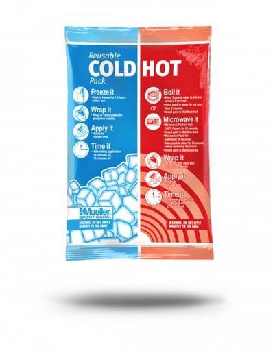 Компресс холодный-горячий многократного пользования Mueller 030105 Reusable Cold/Hot Pack 15см x 22,5см