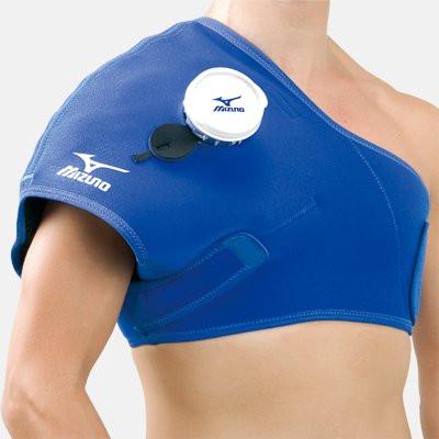 Фиксатор мешков для льда и компрессов на плечо Mizuno Icing Supporter