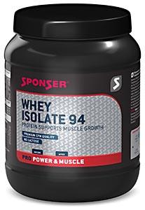 Сывороточный изолят Sponser Whey Protein 94 850гр