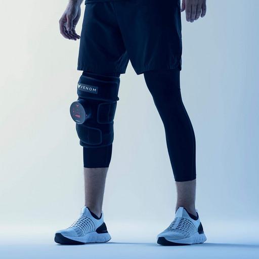Вибрационный тепловой бандаж на ногу Hyperice Leg Device
