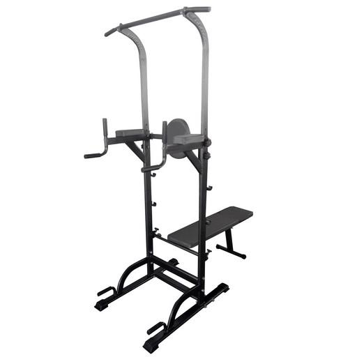 Силовая стойка со скамьей Royal Fitness, Арт. HB-DG005